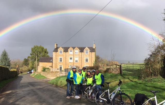 Rainbow in Oddington
