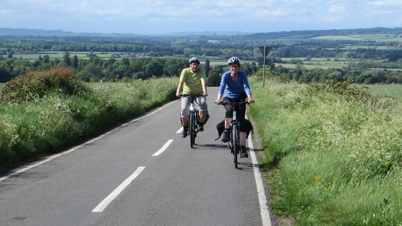 Andre and Astrid e-bike holiday in the Cotswolds