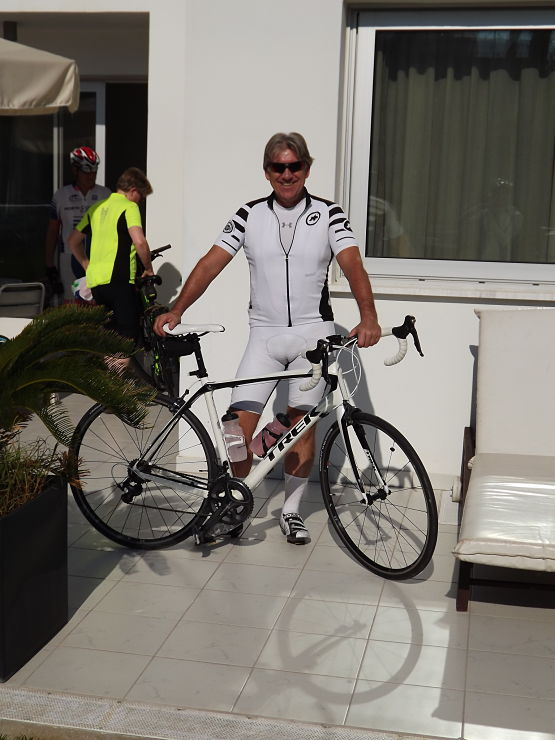 Road bike in Cyprus