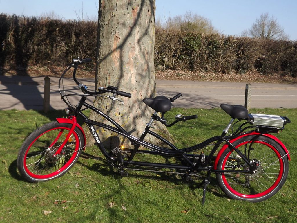 Electric tandem tours