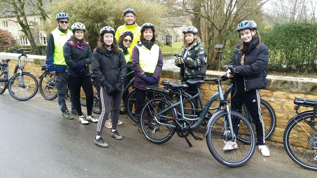 Cotswold e-bike tour to celebrate a birthday