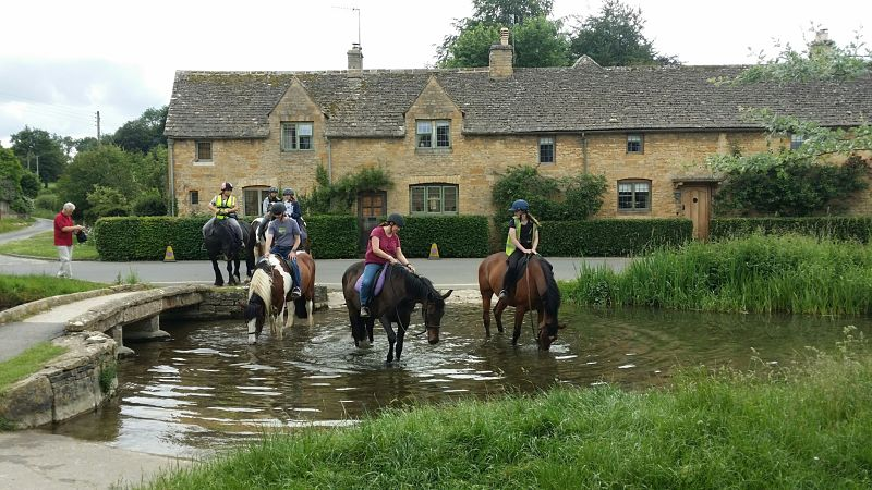 Scenes viewed from a Cotswold e-bike tour