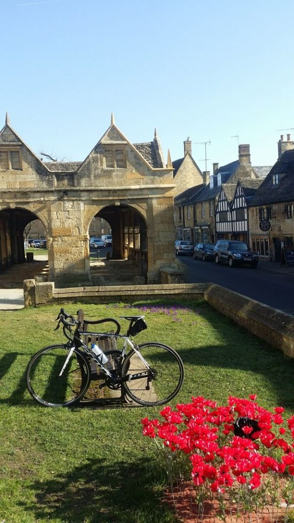 Bike rode to Chipping Campden