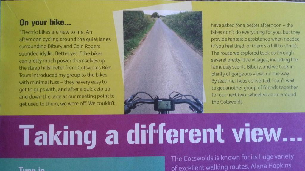 Converted to e-bike tours