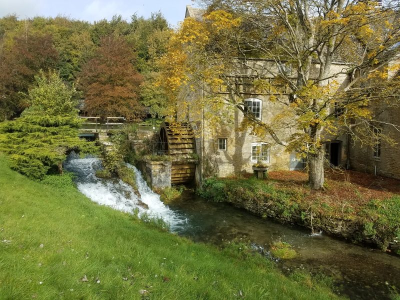Cotswold mill wheel